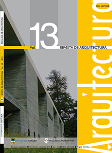 Revista de Arquitectura (Bogotá) 13 2011