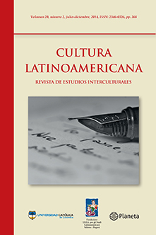 Caratula #20 Cultura Latinoamericana