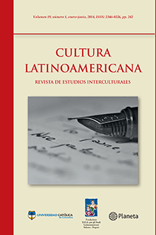 Caratula #19 Cultura Latinoamericana