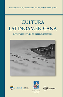 Caratula #16 Cultura Latinoamericana